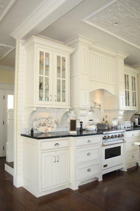 Polk Rd.: Dark Counters, Dark Woods Floors, Architectss Design, Seared Architects, Polk Roads, White Cabinets, Kitchens Cabinets, Dream Kitchens, White Kitchens