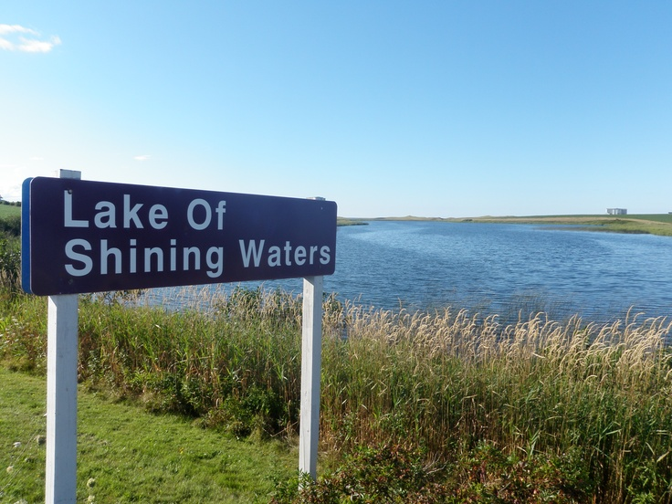 Prince Edward Island, Lake of Shining Waters, named by Anne of Green Gables ♥