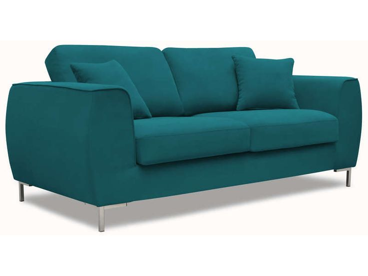 1000 ideas about canap bleu canard on pinterest bleu canard blue sofas a - Canape bleu conforama ...