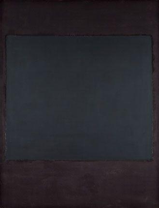 Mark Rothko, Black-Form Paintings.