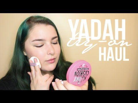 Yadah Try-On Haul / BB Cosmetic | Cruelty Free K-Cosmetics | Angelina Jong