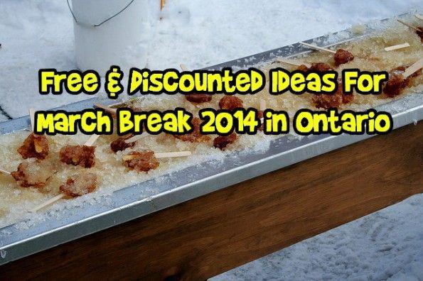 March Break in Ontario