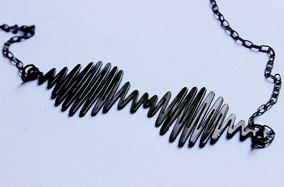 ARCTIC MONKEYS  AM necklace  4 colors available by NavekaDesigns