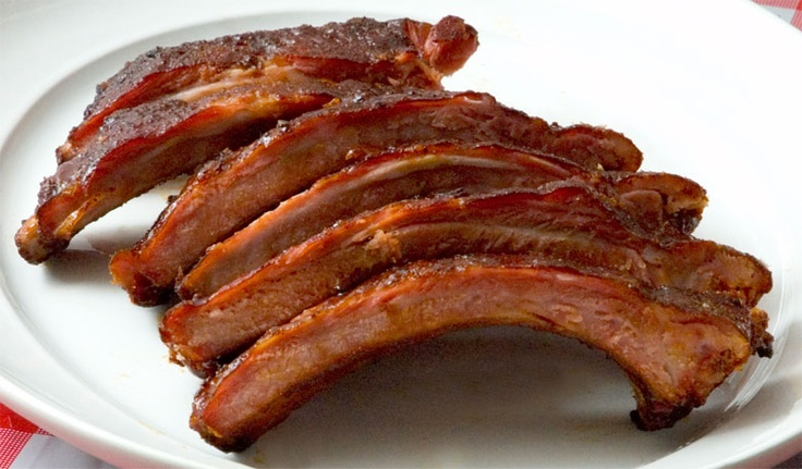 Chicken And Pig On Crutches: Ribs, Glaze And Smoking