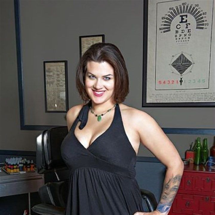 """""""I love doing people; I just like doing figures,"""" says Sarah Miller of Wyld Chyld studio in Brookline. She is competing on Spike's """"Ink Master"""" reality TV ..."""