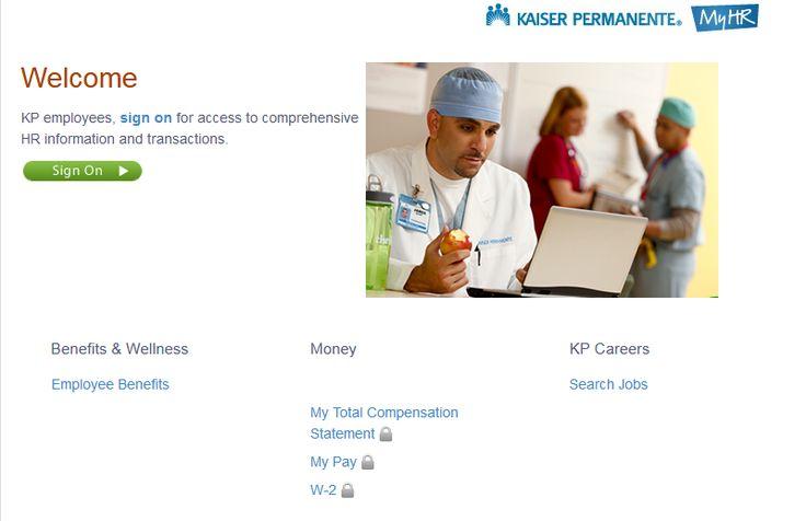 kp.org my hr pay
