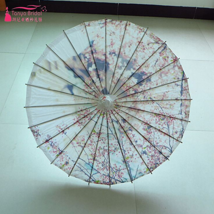 oil paper umbrella Free shipping buy thy collectibles rainproof handmade chinese oiled paper umbrella parasol 33 peacock & peony at walmartcom.