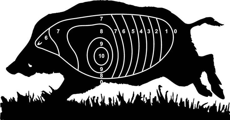 ... | free printable shooting targets | Pinterest | Wild boar and Target