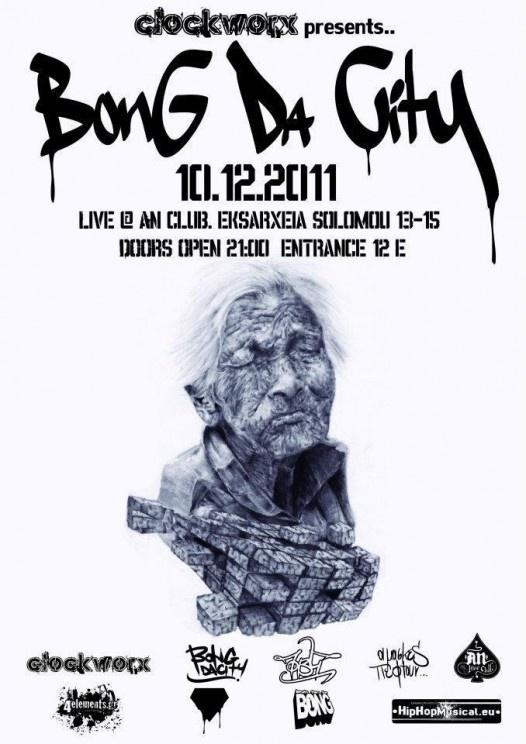 Bong Da City live @ An Club 10.12.2011