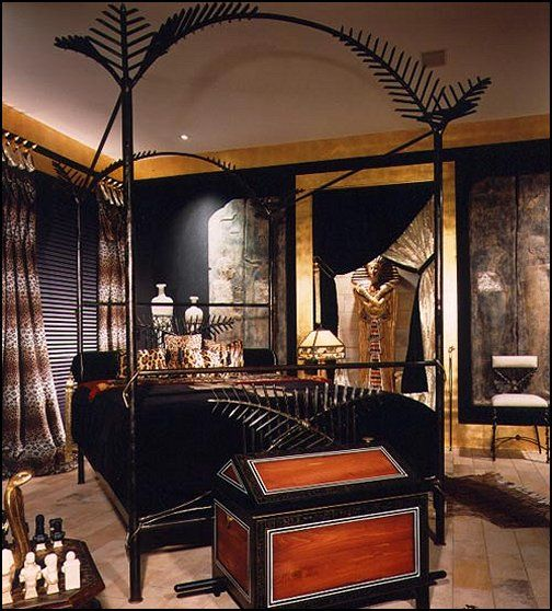 43 best egyptian style home decor ideas images on pinterest for Egyptian bedroom designs