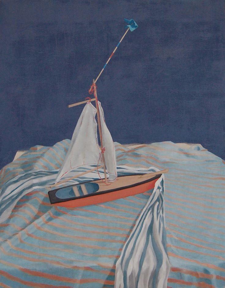 Giorgio Silvestrini - 2013 oil on canvas - 146 x 114 cm www.evahober.com