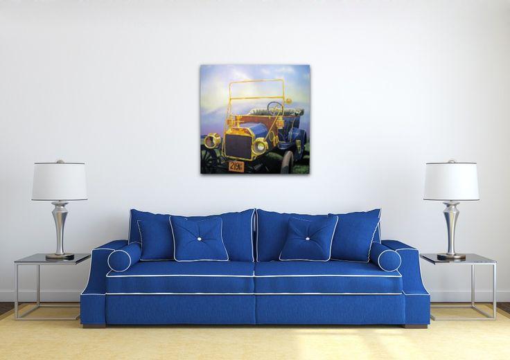 Jocelyn Fafard, artiste LSDM La Dame en Bleu 36 x 36   // 1 350 $  http://lasalledemontre.com/jocelyn-fafard-sca-1/la-dame-en-bleu