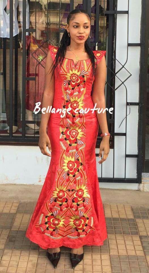 Mali fashion bazin brodé #BellangeCouture