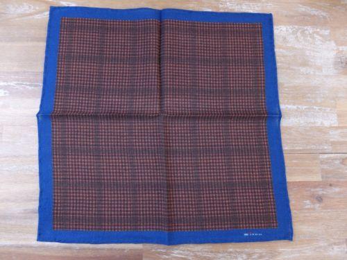 auth KITON Napoli wool pocket square handkerchief - NWOT