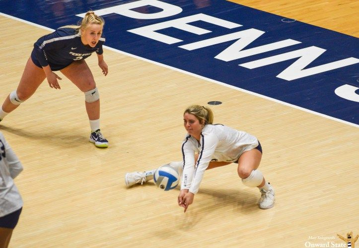 Penn State Women S Volleyball Loses To Nebraska 3 2 Onward State Women Volleyball Volleyball Penn State