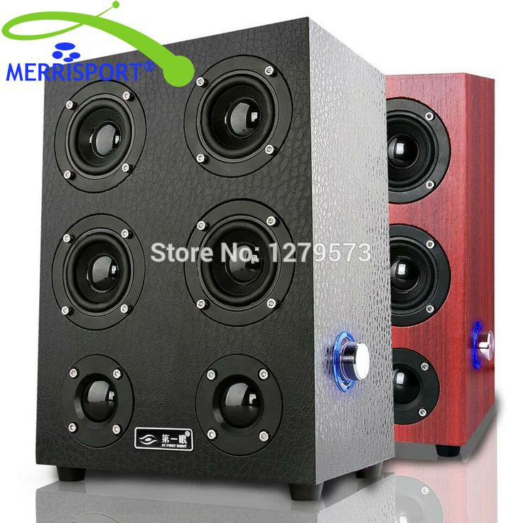 MERRISPORT Floorstanding Speakers HiFi Music Speakers for Desktop PC Computer Notebook Tablet Home Theater TV HTC Music Systems