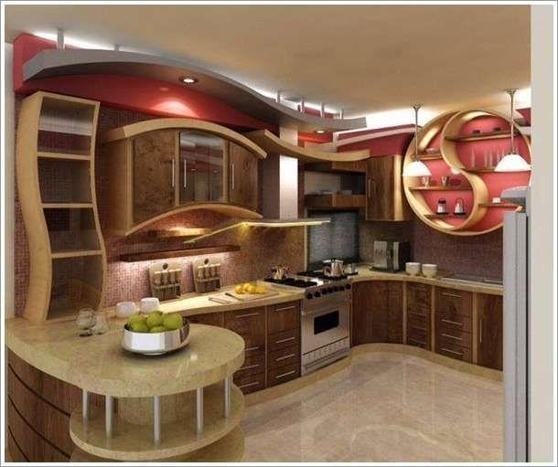 10 Unique Small Kitchen Design Ideas: 10 Impossible Kitchen Designs