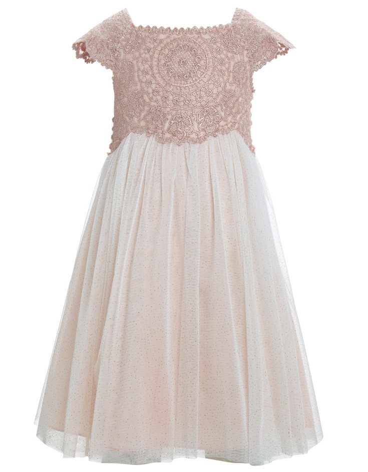 Don't know if you've looked in Monsoon at flower girl dresses or not - not too expensive and really floaty/fairy-ish - they pics on here don't really do them justice x
