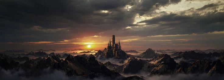 Dark Souls 2 Matte Painting, Maxx Burman on ArtStation at http://www.artstation.com/artwork/dark-souls-2-matte-painting
