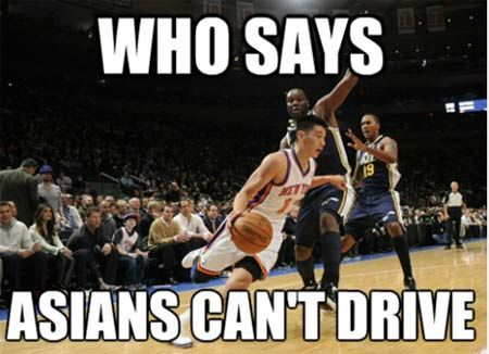 Who Says Asians Can't Drive! - Jeremy Lin - LOL