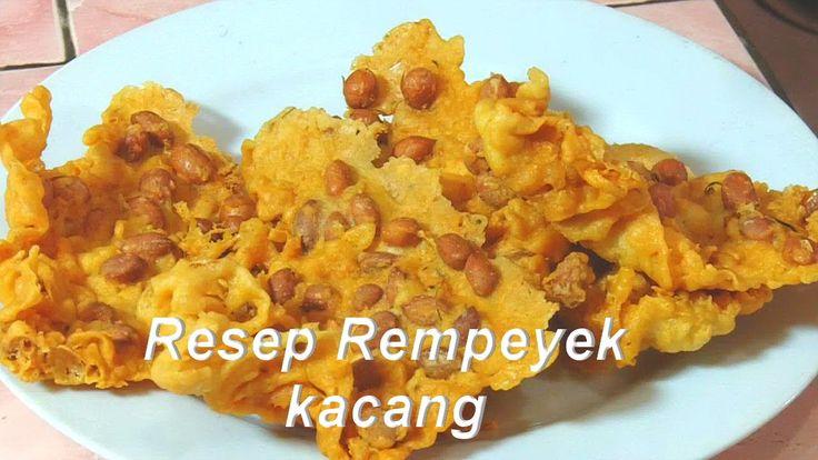 Cara Membuat Peyek - easy snacks recipes ( rempeyek )