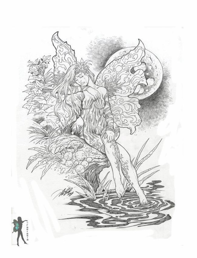 coloring pages for adults only fairy mermaid blog free fairy coloring pages by various. Black Bedroom Furniture Sets. Home Design Ideas