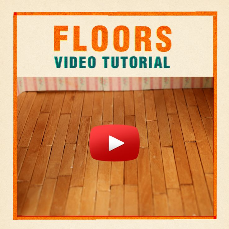 91 Best Tutorials: Miniature Construction (floors) Images