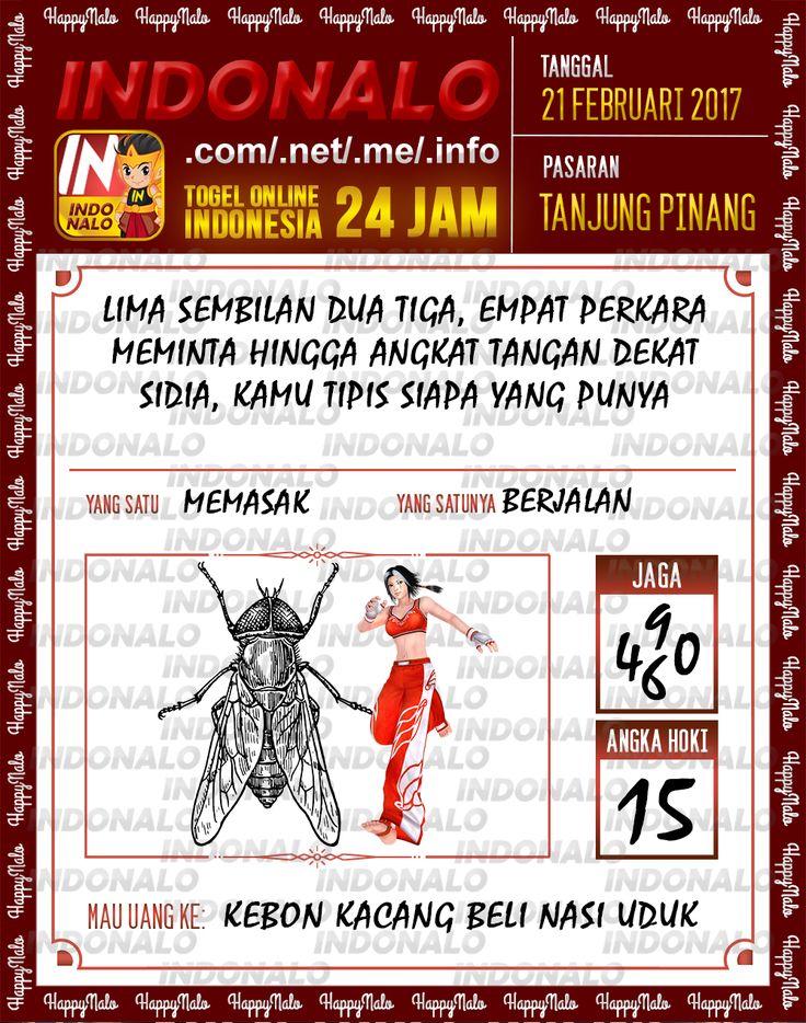 Taysen Hoki 6D Togel Wap Online Live Draw 4D Indonalo Tanjung Pinang 21 Februari 2017