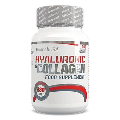 Biotech Hyaluronic Collagen tabletta támogatja a bőr, haj és köröm egészséges kinézetét, valamint a porcok és ízületek mozgékonyságát.A szépségiparban évek óta alkalmazzák a hialuronsavat és a kollagént, melyek szép bőr, az egészséges haj és körmök elengedhetetlen alkotórészei.A készítmény hatóanyagai a bőr, a porc építőkövei, a kötőszövetek legfőbb szerkezeti elemei. Jelentős szerepük van a porcfelszín épségének, a porcréteg megfelelő vastagságának és az ízületi kötőszövetek optimális…