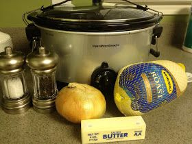 Everyday Thoughts: Crockpot Turkey. Uses a frozen turkey!