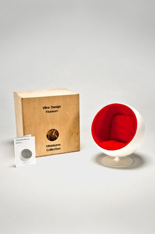 the modern archive - Ball Chair (1:6 Scale Miniature) by Eero Aarnio