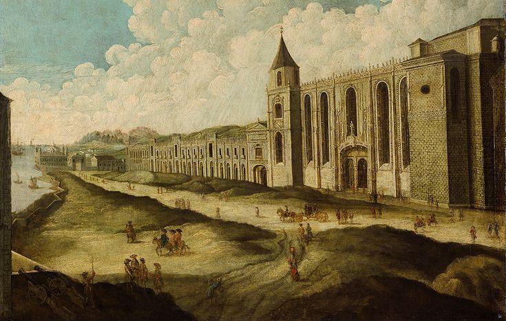 Quatro pinturas sem autor nem data mostram Lisboa antes do terramoto de 1755