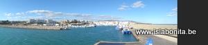 L'ametlla de Mar, puerto, panoramic view