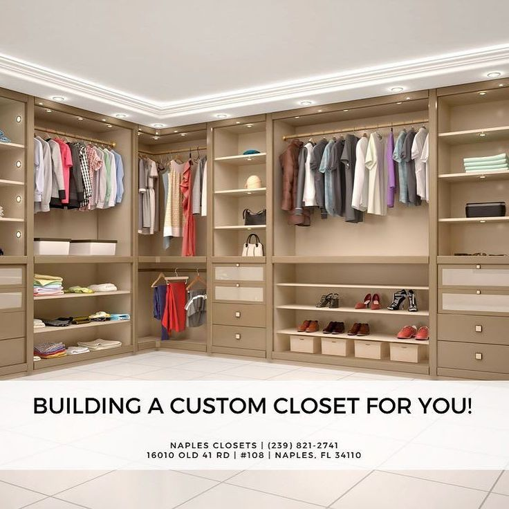 Building A Custom Closet For Your Bedroom Is A Great Way To Get Organized  And Create