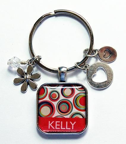 Personalized Keychain Keychain for women Stocking stuffer
