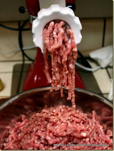 Making Sausage With the KitchenAid Meat Grinder Attachment
