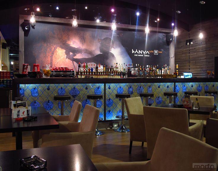 DIE MINE Bánya café, Graz, Austria & bar / interior design, 2010