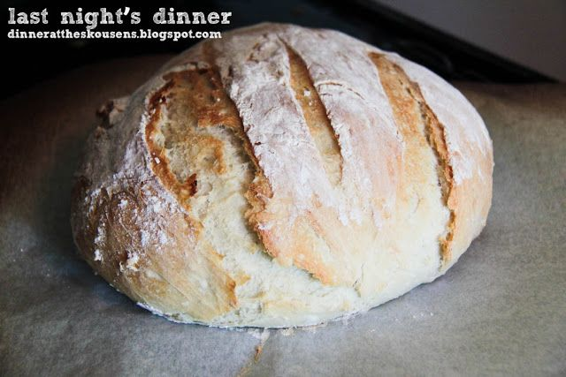 the baker upstairs: crusty artisan bread | Recipes for the New Home