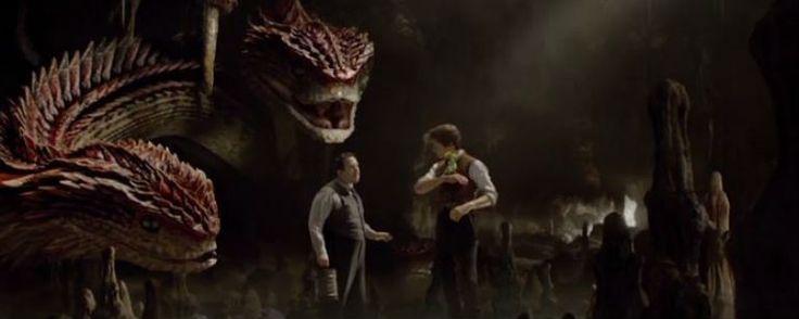 'Animales fantásticos y dónde encontrarlos': Conoce a la criatura Runespoor con esta escena eliminada de la película