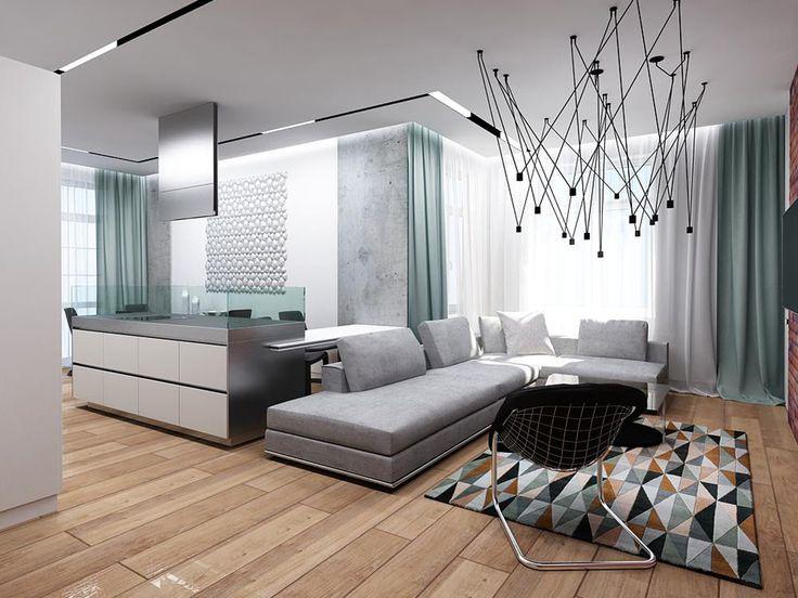 Стихия бетона - Освещение в современном стиле c XAL | PINWIN - конкурсы для…