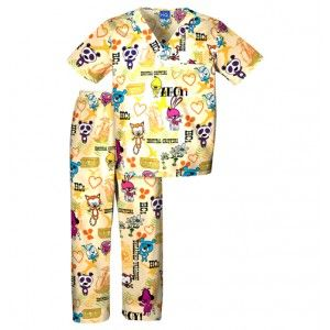 Childrens Hospital Critterz Ahoy Scrub Set - Infinity Scrubs of AR  Kids Scrubs