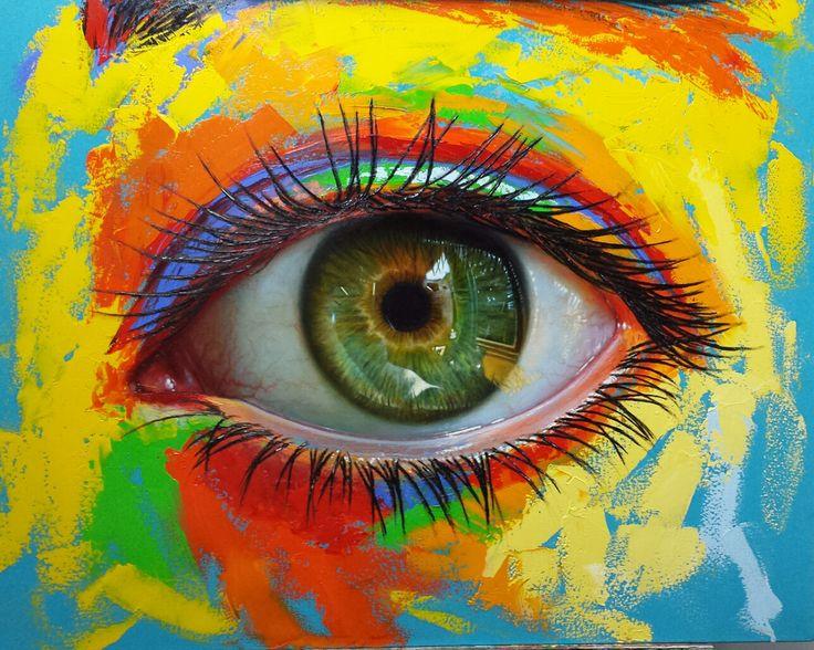 Óleo sobre lienzo, 100 ×80 cm by Patricia Vesga PAVES
