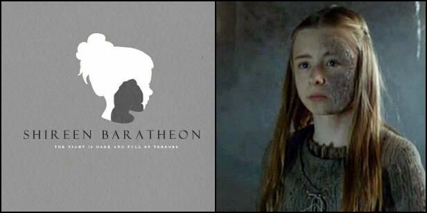 SHIREEN BARATHEON: STANNIS' DAUGHTER