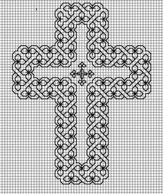 Christian Sayings Cross Stitch Patterns | BLACKWORK-esquemas | Aprender manualidades es facilisimo.com - cross