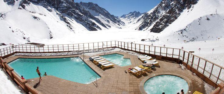 Ski Portillo ~ Los Andes, Chile in summer! Portillo winter season June to Sept.! Score!