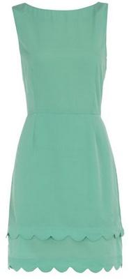 To wear or not to wear on TV - Aqua Green - my aqua blue dress