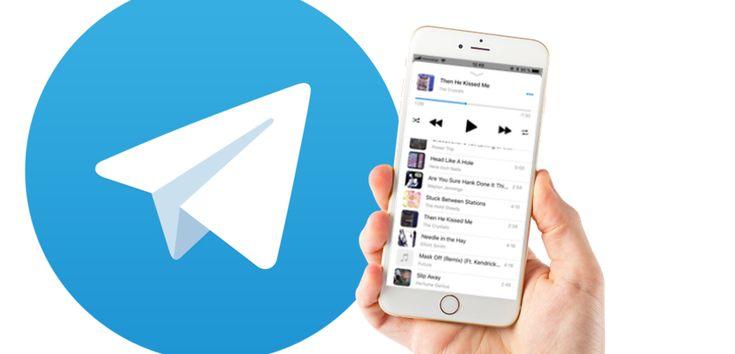 Cómo escuchar música gratis con Telegram en tu iPhone - https://www.actualidadiphone.com/escuchar-musica-gratis-telegram/