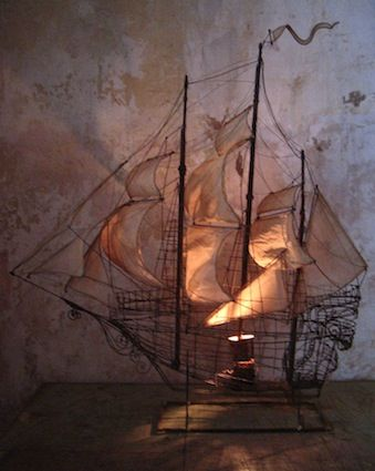Its not a tattoo but its great inspiration for one.     Le Bateau  by Pascale Palun of France