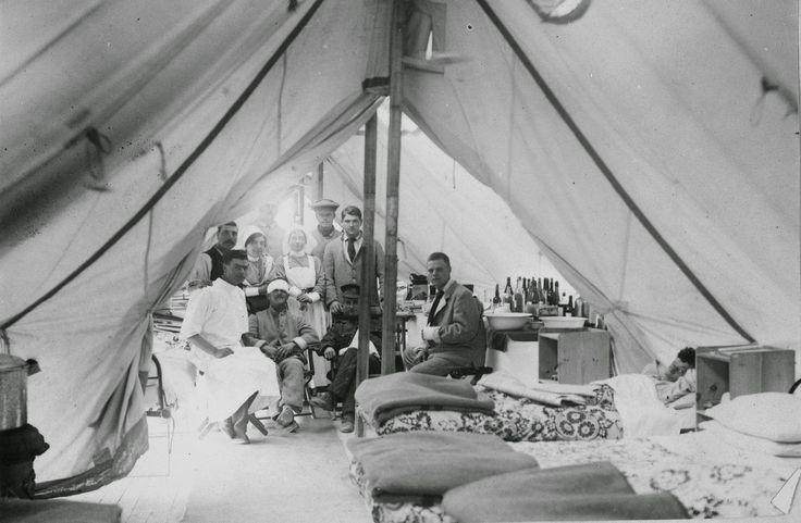 Olive Tree Genealogy Blog: Nursing Sister Philips WW1 Album 24 V Tent Ward