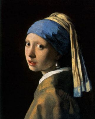 Vermeers Girl with a pearl earring is one of my personal favourites.